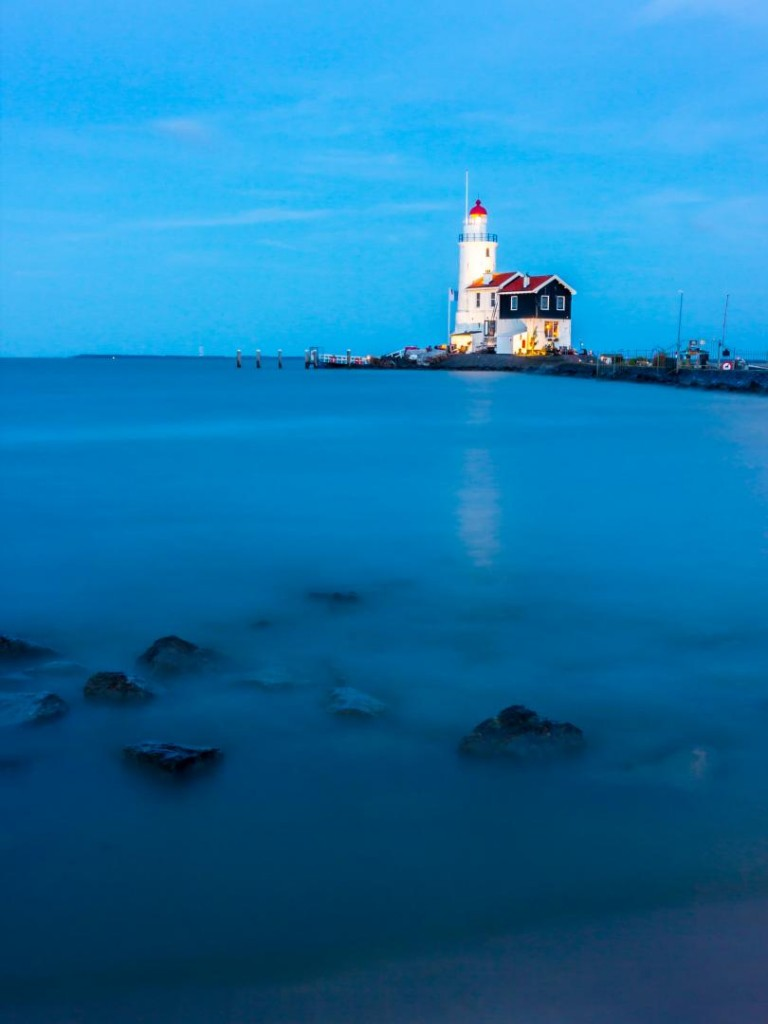 Lighthouse on marken Island 24mm