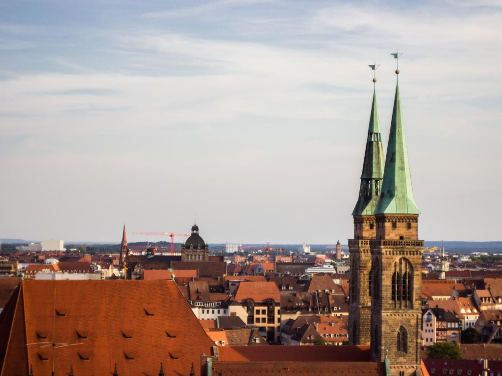 View from Imperial Castle of Nuremberg @Vlad Stawizki F8 – 1/1600s – ISO 100 – 50mm
