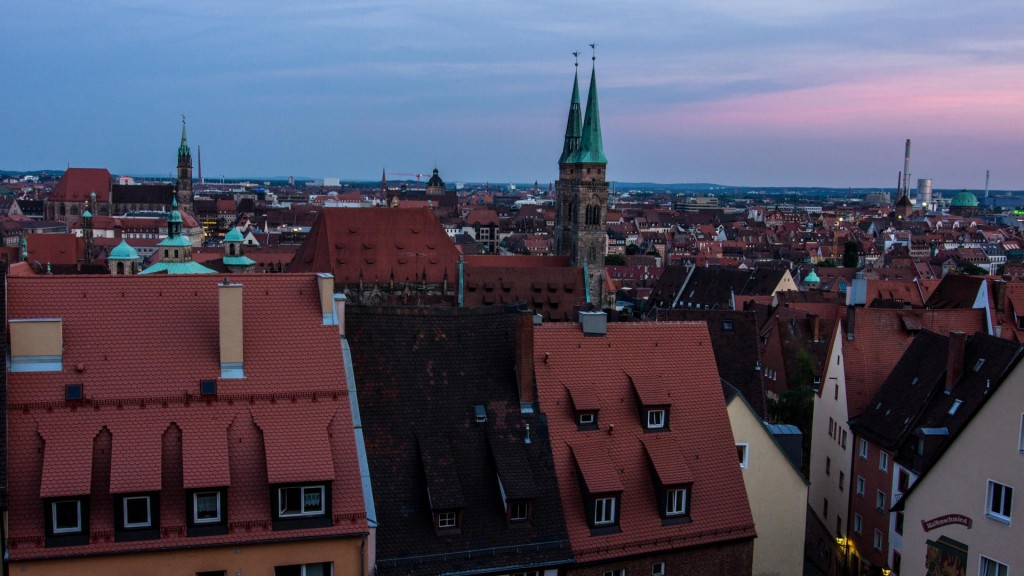 View from Imperial Castle of Nuremberg Wide Lens Sunset @Vlad Stawizki F11 – 0.5s – ISO 100 – 24mm
